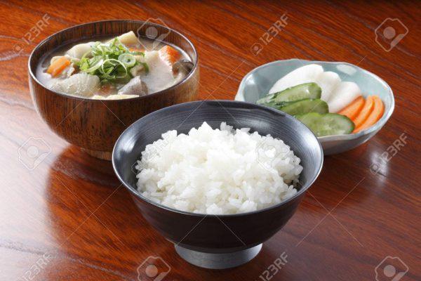 برنج و ترشی